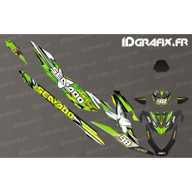 Kit de décoration Carrera de Monster Edition (Verde) - Seadoo RXT-X 300 -idgrafix