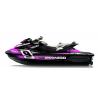 Kit décoration Monster Race Rose pour Seadoo RXT 260 / 300 (coque S3)
