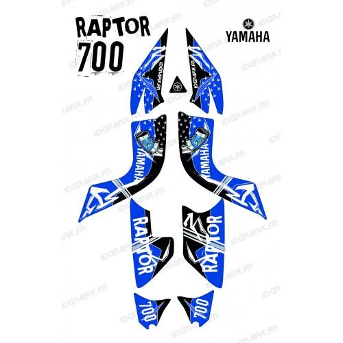 Kit de decoració Carrer Blau - IDgrafix - Yamaha 700 Rapinyaire -idgrafix