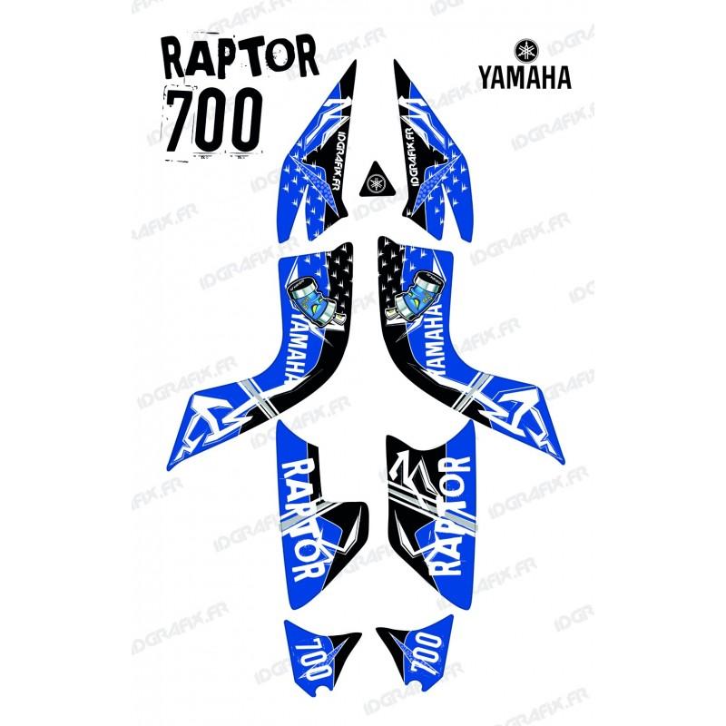 Kit de decoración de la Calle Azul - IDgrafix - Yamaha Raptor 700 -idgrafix
