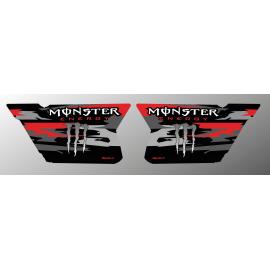 Kit decoration Doors CF Moto Zforce (Red)- Monster Edition - IDgrafix