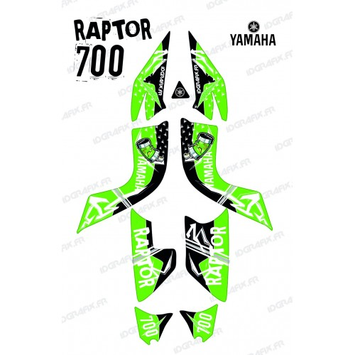 Kit decoration Street Green - IDgrafix - Yamaha 700 Raptor