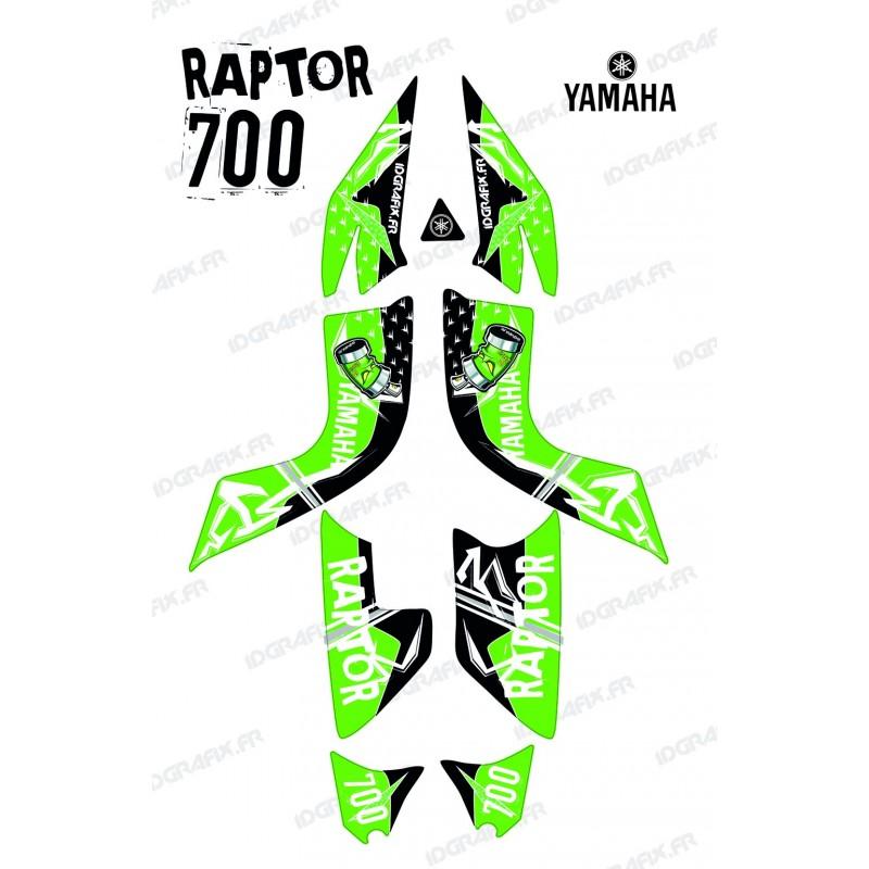 Kit decoration Street Green - IDgrafix - Yamaha 700 Raptor-idgrafix