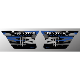 Kit decoration Doors CF Moto Zforce (Blue)- Monster Edition - IDgrafix