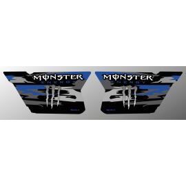 Kit dekor Türen CF Moto Zforce (Blau)- Monster Edition - IDgrafix -idgrafix