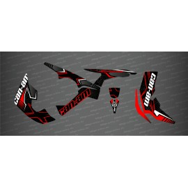 Kit decoration Maze Edition Full (Red) - IDgrafix - Can Am Renegade - IDgrafix