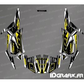 Kit de decoració Fàbrica Edició (Gris/Groc)- IDgrafix - Polaris RZR 1000 Turbo -idgrafix