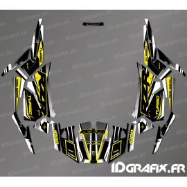 Kit decoration Factory Edition (Grey/Yellow)- IDgrafix - Polaris RZR 1000 Turbo