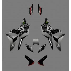 Kit de decoració Camo Edició gris - Yamaha MT-09 Traçadors -idgrafix