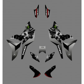 Kit dekor Camo Edition-grau - Yamaha MT-09 Tracer-idgrafix