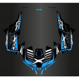 Kit décoration Race Can Am Series Bleu - Idgrafix - Can Am 1000 Maverick-idgrafix