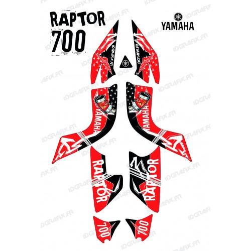 Kit decoration Street Red - IDgrafix - Yamaha 700 Raptor