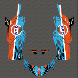 Kit decoration Gulf Edition - Idgrafix - Can Am Maverick SPORT - IDgrafix
