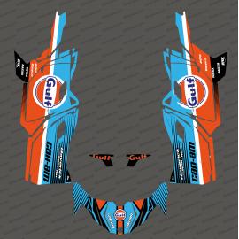 Kit dekor Gulf Edition - Idgrafix - Can Am Maverick SPORT-idgrafix