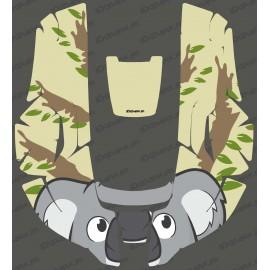 Etiqueta Engomada de la pared Koala edición - Robot cortacésped Husqvarna AUTOMOWER -idgrafix
