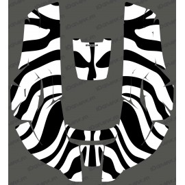 Sticker Zebra edition - Robot mower Husqvarna AUTOMOWER 310/315-idgrafix