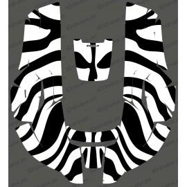 Sticker Zebra edition - Robot mower Husqvarna AUTOMOWER-idgrafix