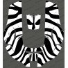 Sticker Zebra edition - Robot mower Husqvarna AUTOMOWER 310/315