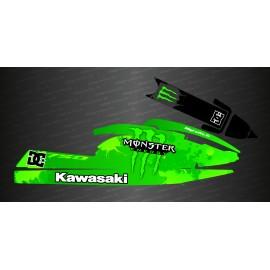 Kit decoration Splash green for Kawasaki SX-SXR-SXI 750-idgrafix