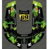 Sticker Monster edition (Green) - Robot mower Husqvarna AUTOMOWER