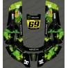 Sticker Monster edition (Green) - Robot mower Husqvarna AUTOMOWER