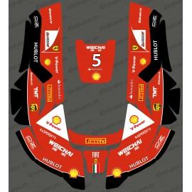 Aufkleber F1 Scuderia edition - Roboter, mähen Husqvarna AUTOMOWER -idgrafix