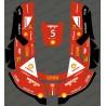 Sticker F1 Scuderia edition - Robot de tonte Husqvarna AUTOMOWER