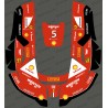 Sticker F1 Scuderia edition - Robot mower Husqvarna AUTOMOWER