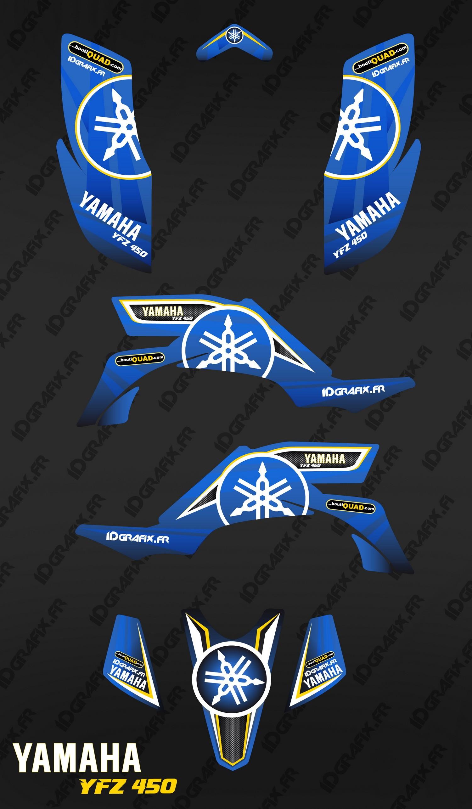 Kit Dekor Karbonik Blau