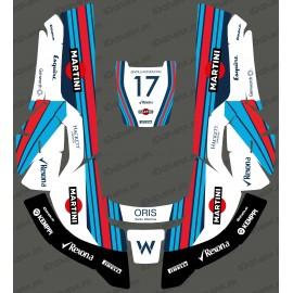 Adhesiu de Williams F1 edició - Robot tallagespa Husqvarna AUTOMOWER -idgrafix