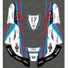 Adesivo F1 Williams edizione - Robot rasaerba Husqvarna AUTOMOWER