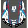 Sticker F1 Williams edition - Robot de tonte Husqvarna AUTOMOWER