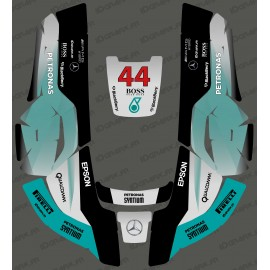 Stickers F1 Mercedes edition - Robot mower Husqvarna AUTOMOWER-idgrafix