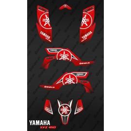 Kit de decoración de Karbonik Rojo - IDgrafix - Yamaha YFZ 450