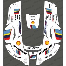 Etiqueta engomada de Peugeot Sport edition - Robot cortacésped Husqvarna AUTOMOWER -idgrafix