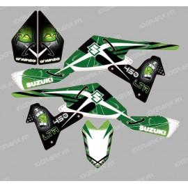 Kit décoration Space Vert - IDgrafix - Suzuki  LTR 450