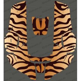 Etiqueta engomada de Tigre edición - Robot cortacésped Husqvarna AUTOMOWER -idgrafix