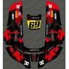 Adesivo Monster edition (Rosso) - Robot rasaerba Husqvarna AUTOMOWER