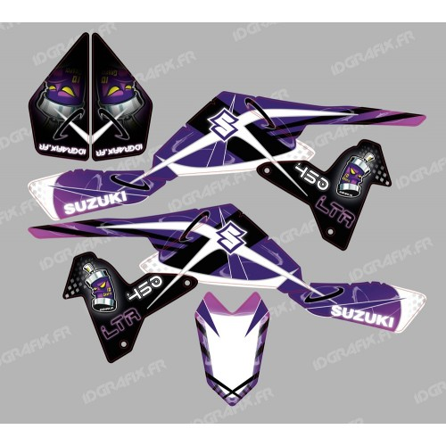 Kit dekor Space Purple - IDgrafix - Suzuki LTR 450