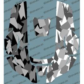 Etiqueta engomada de la Camo Edition (Gris) - Robot cortacésped Husqvarna AUTOMOWER -idgrafix