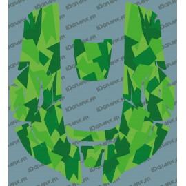 Etiqueta engomada de la Camo Edition (Verde) - Robot cortacésped Husqvarna AUTOMOWER -idgrafix