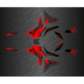 Kit de decoració Equip d'Edició (Vermell) - Yamaha MT-09 Traçadors -idgrafix