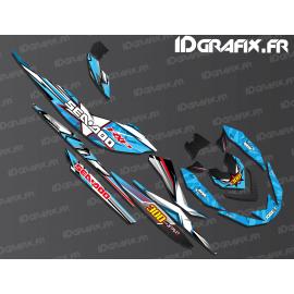 Kit de decoración de Dibujo Edición (Azul) - Seadoo RXP-X 260-300 -idgrafix