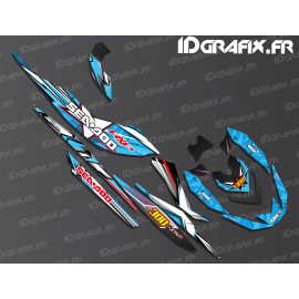 Kit decoration Drawing Edition (Blue) - Seadoo RXP-X 260-300 - IDgrafix