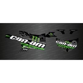Kit decoration Lightning Edition (Green) - Idgrafix - Can Am Maverick SPORT - IDgrafix