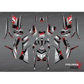 Kit de decoració SpiderStar-Negre/Gris (Complet) - IDgrafix - Polaris 850/1000 Scrambler