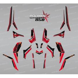 Kit decoration SpiderStar Red/Black (Light) - IDgrafix - Polaris 850 Scrambler