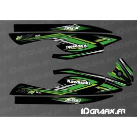 Kit de decoración de la Réplica de la Fábrica de 2020 para Kawasaki 800 SXR -idgrafix