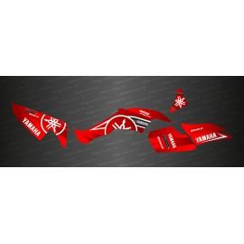 Kit décoration Karbonik series (Rouge) - IDgrafix - Yamaha 350 Raptor