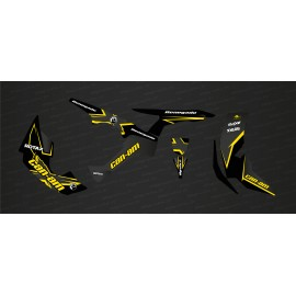 Kit décoration STAY Edition Full (Jaune) - IDgrafix - Can Am Renegade